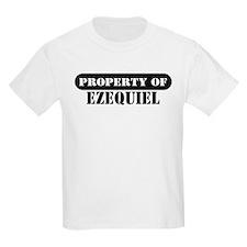Property of Ezequiel Kids T-Shirt