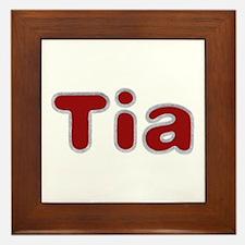 Tia Santa Fur Framed Tile