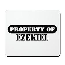 Property of Ezekiel Mousepad