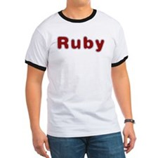 Ruby Santa Fur T-Shirt
