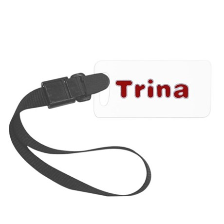 Trina Santa Fur Small Luggage Tag