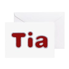 Tia Santa Fur Greeting Card