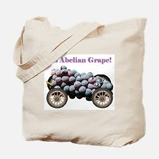 Abelian Grape Tote Bag