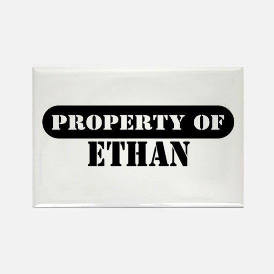 Property of Ethan Rectangle Magnet