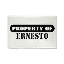 Property of Ernesto Rectangle Magnet