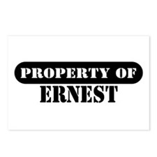 Property of Ernest Postcards (Package of 8)