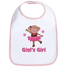 Gigi's Girl monkey Bib