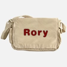 Rory Santa Fur Messenger Bag