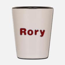 Rory Santa Fur Shot Glass