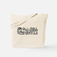 Alices Adventures in Wonderland Tote Bag
