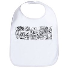 Alices Adventures in Wonderland Bib