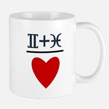 Gemini + Pisces = Love Mug
