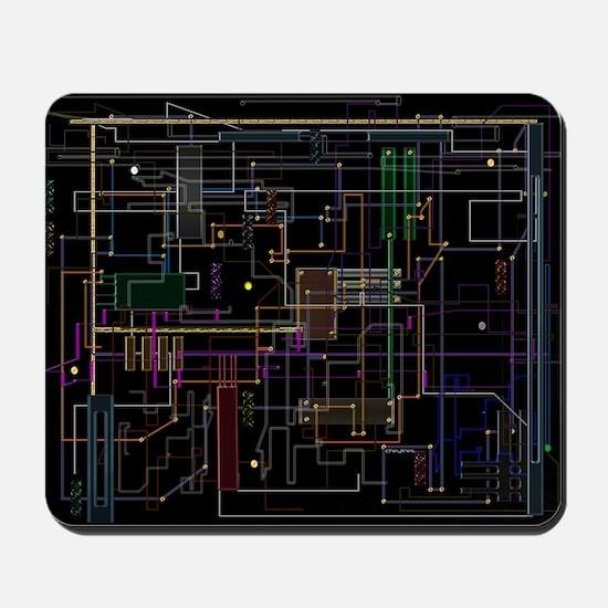 Assimilated Trekkie Decor Mousepad