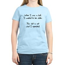 When I Was A Kid T-Shirt
