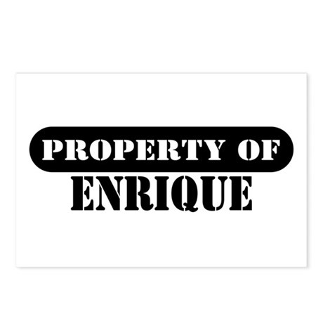 Property of Enrique Postcards (Package of 8)
