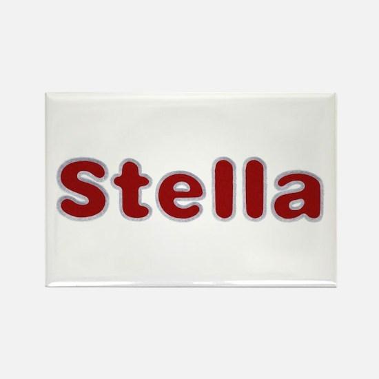 Stella Santa Fur Rectangle Magnet