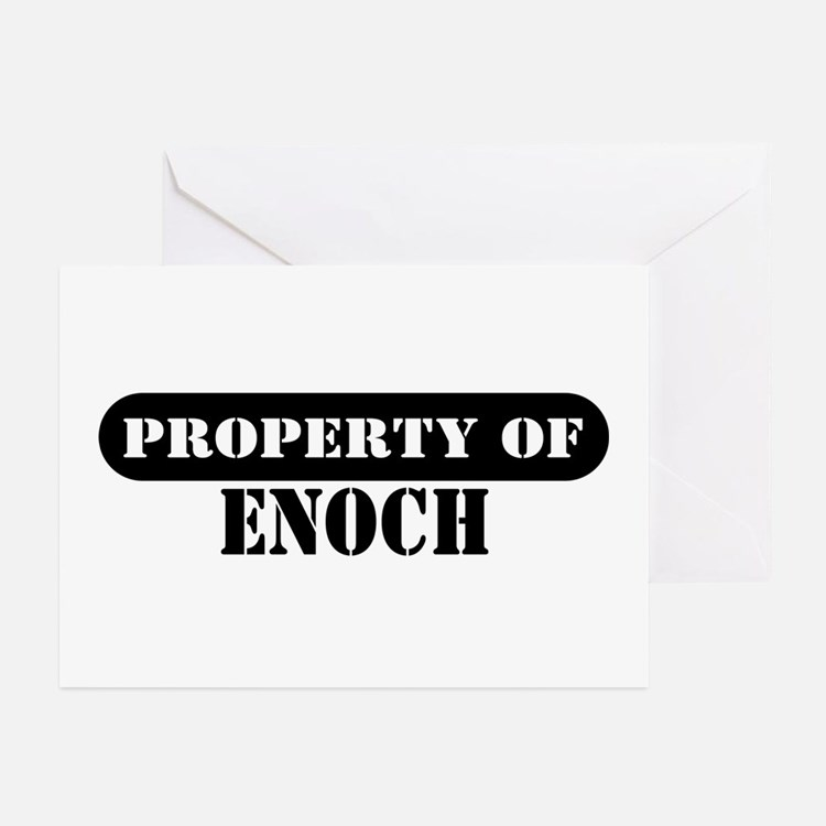 Property of Enoch Greeting Cards (Pk of 10)