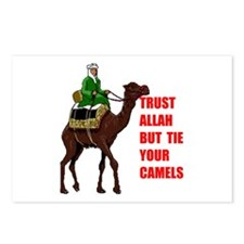 TRUST ALLAH Postcards (Package of 8)