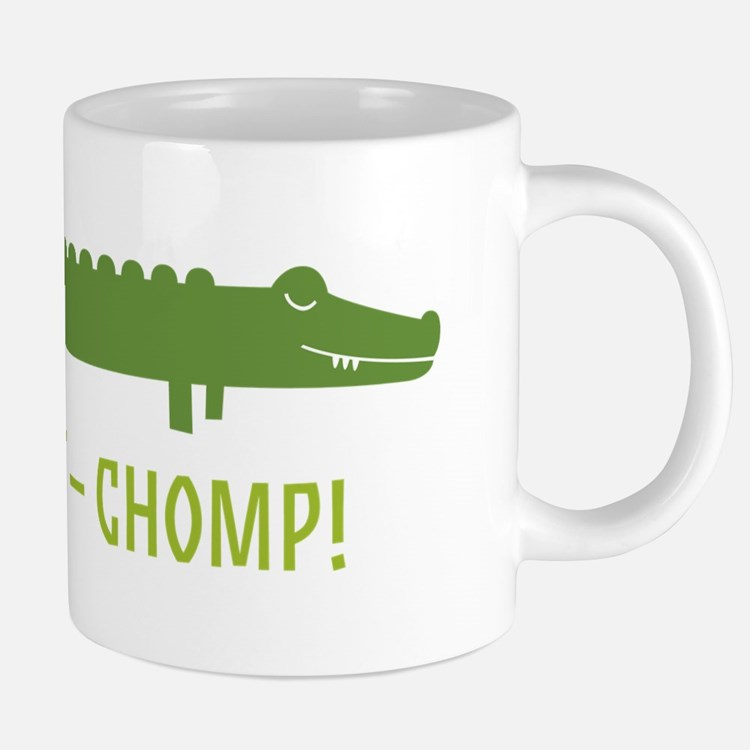 Chomp Alligator Mugs