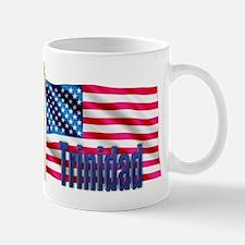 Trinidad American Flag Gift Mug