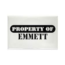 Property of Emmett Rectangle Magnet