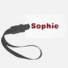 Sophie Santa Fur Luggage Tag