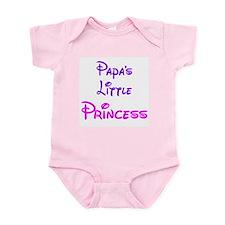 Twisted Imp Papa's Little Princess Baby Bodysuit