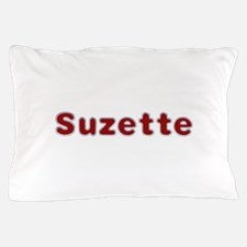 Suzette Santa Fur Pillow Case