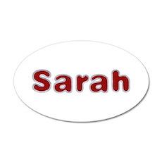 Sarah Santa Fur Wall Decal