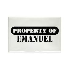 Property of Emanuel Rectangle Magnet