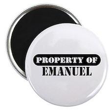 Property of Emanuel Magnet