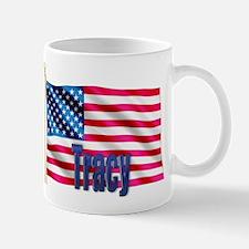 Tracy American Flag Gift Small Small Mug