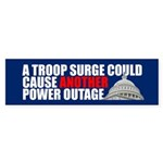 ANOTHER POWER OUTAGE Bumper Sticker
