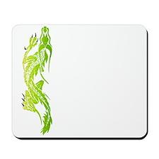 Green Climbing Dragon Mousepad