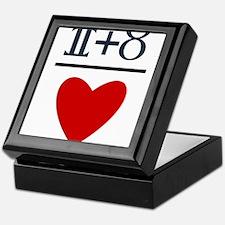 Gemini + Taurus = Love Keepsake Box