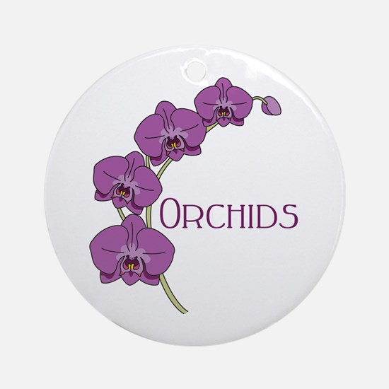 Orchids Ornament (Round)