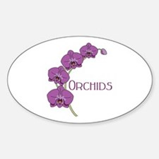 Orchids Decal