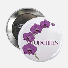 "Orchids 2.25"" Button"