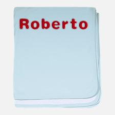 Roberto Santa Fur baby blanket
