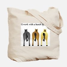 HORSES ASS Tote Bag