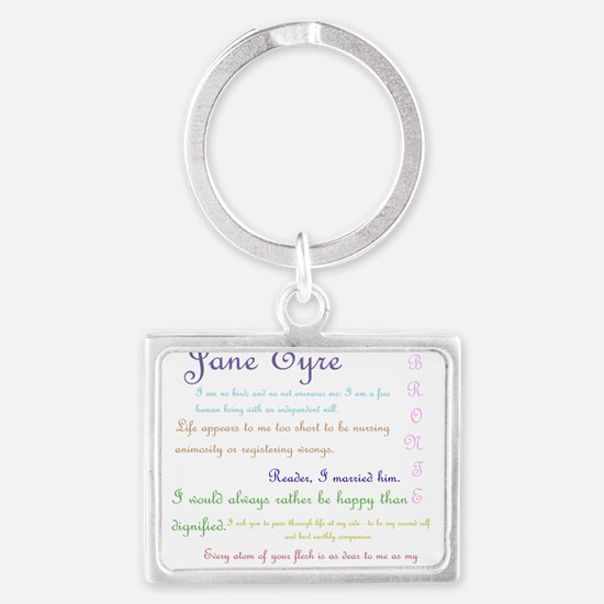 Jane Eyre Quotes Keychains