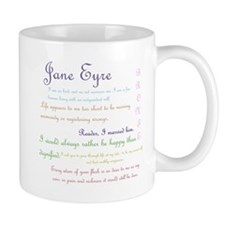 Jane Eyre Quotes Mugs