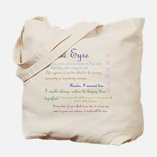 Jane Eyre Quotes Tote Bag