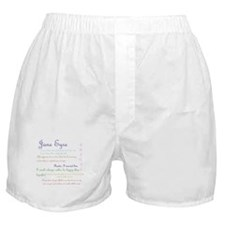 Jane Eyre Quotes Boxer Shorts