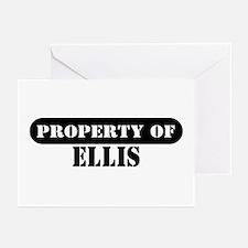 Property of Ellis Greeting Cards (Pk of 10)