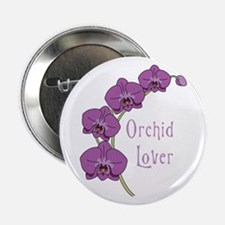 "Orchid Lover 2.25"" Button"