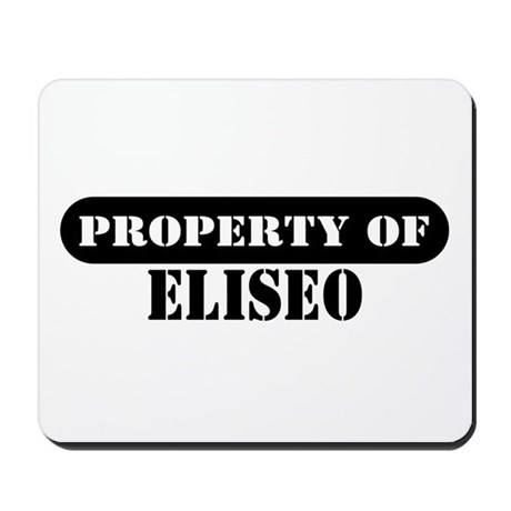 Property of Eliseo Mousepad