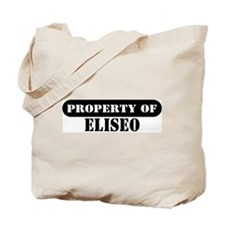 Property of Eliseo Tote Bag