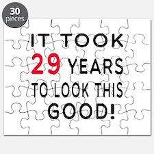 It Took 29 Birthday Designs Puzzle