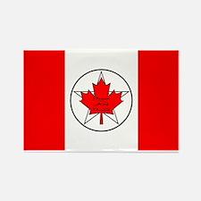 Canadian Pagan Flag Rectangle Magnet